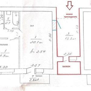 Продам квартиру в Светлогорске 2х комнатную в отличном состоянии.