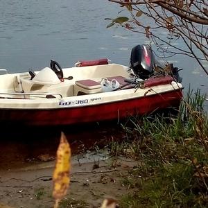 лодка БИ-360 Стеклопластик с двигателем