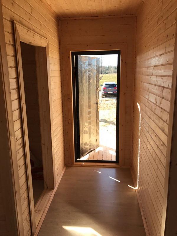 Каркасный Дом под ключ 8х10 м проект Галифакс 5