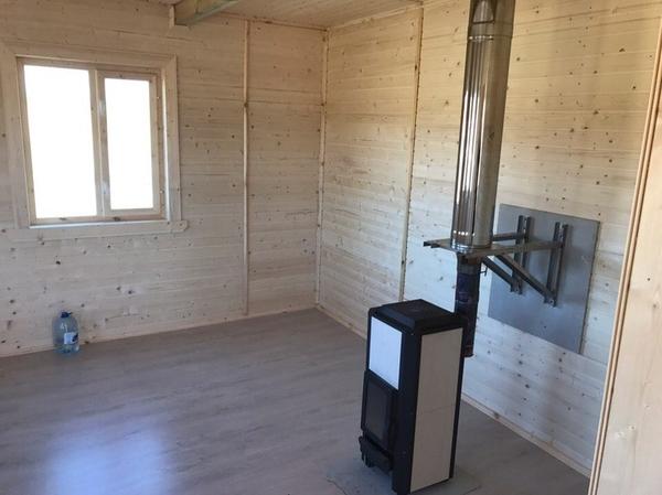 Каркасный Дом под ключ 8х10 м проект Галифакс 8